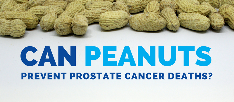 Can peanuts prevent prostate cancer related deaths?