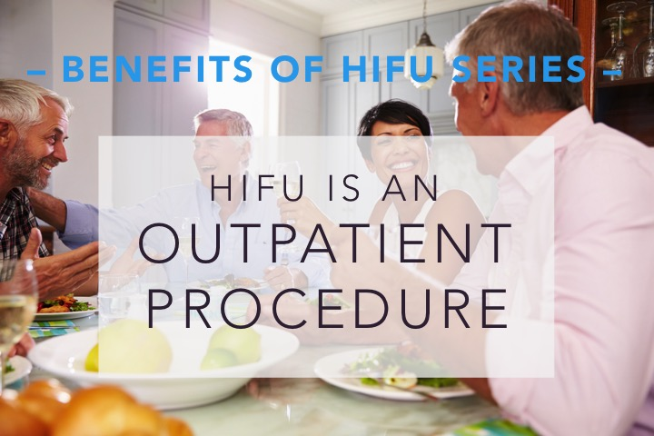 HIFU for prostate cancer is an outpatient procedure.