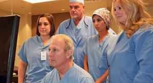 Dr. Lazar anad HIFU Treatment Team