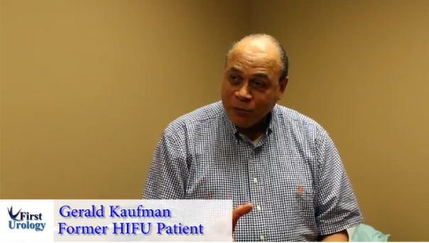 Gerald Kaufman Former HIFU Patient