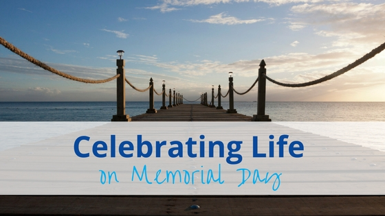 Celebrate Life on Memorial Day sunset