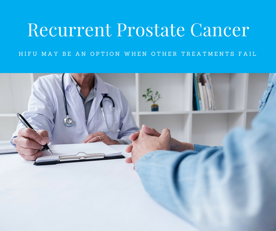 HIFU for Recurrent Prostate Cancer