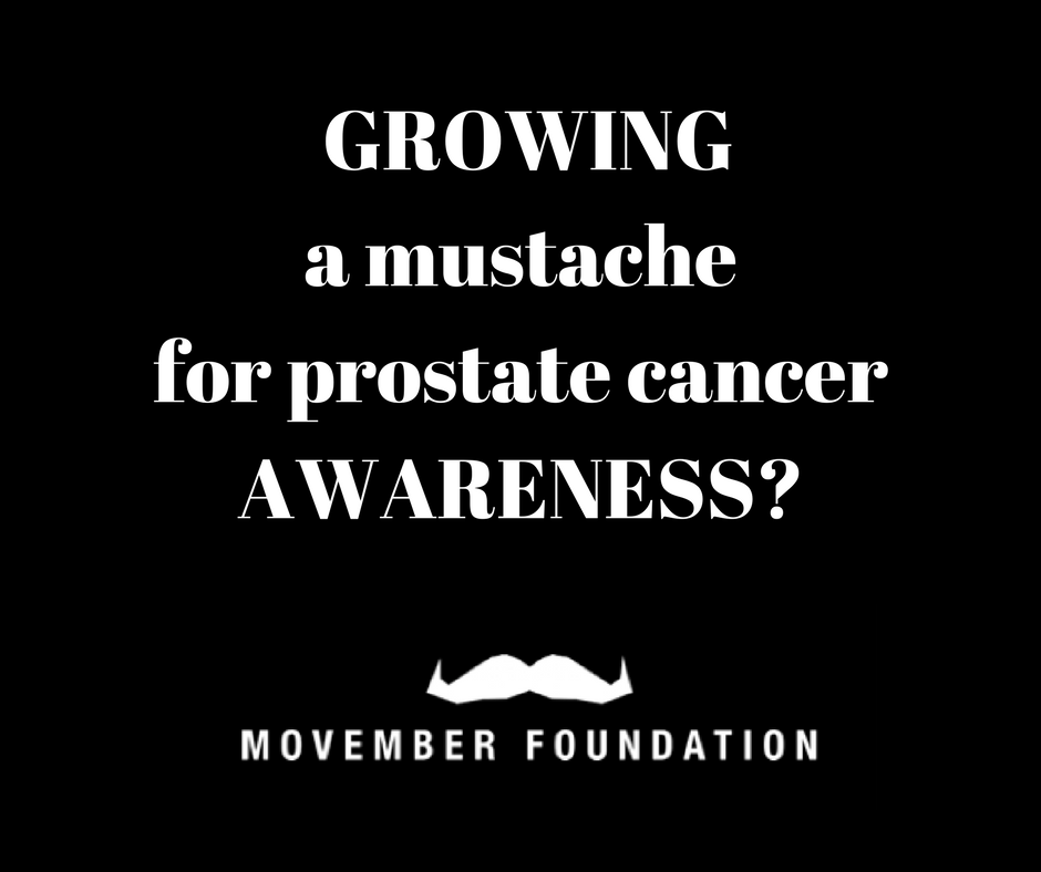 Movember - awareness for men's health