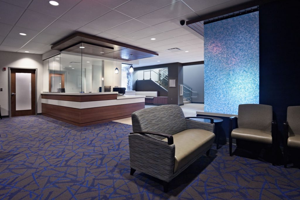 Central Ohio Urology Surgery Center lobby