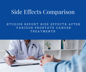 Prostate Cancer Treatments Side Effects Comparison
