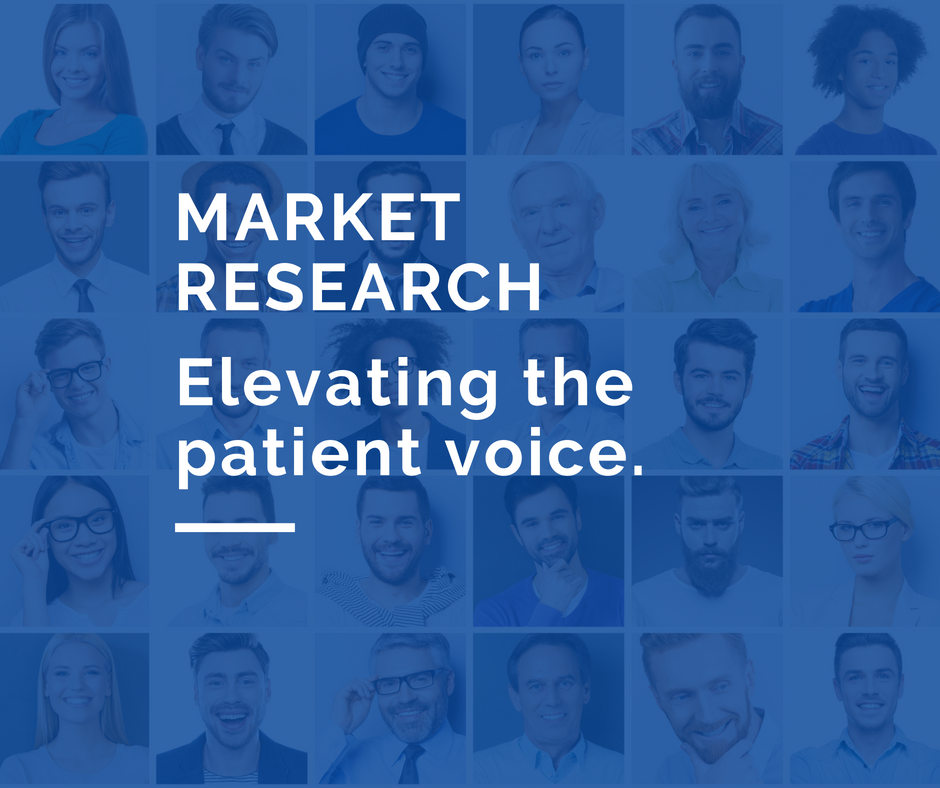 Market Research helps give patients and caregivers a voice.