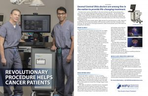 Urologists at Central Ohio Urology offer HIFU for prostate Cancer