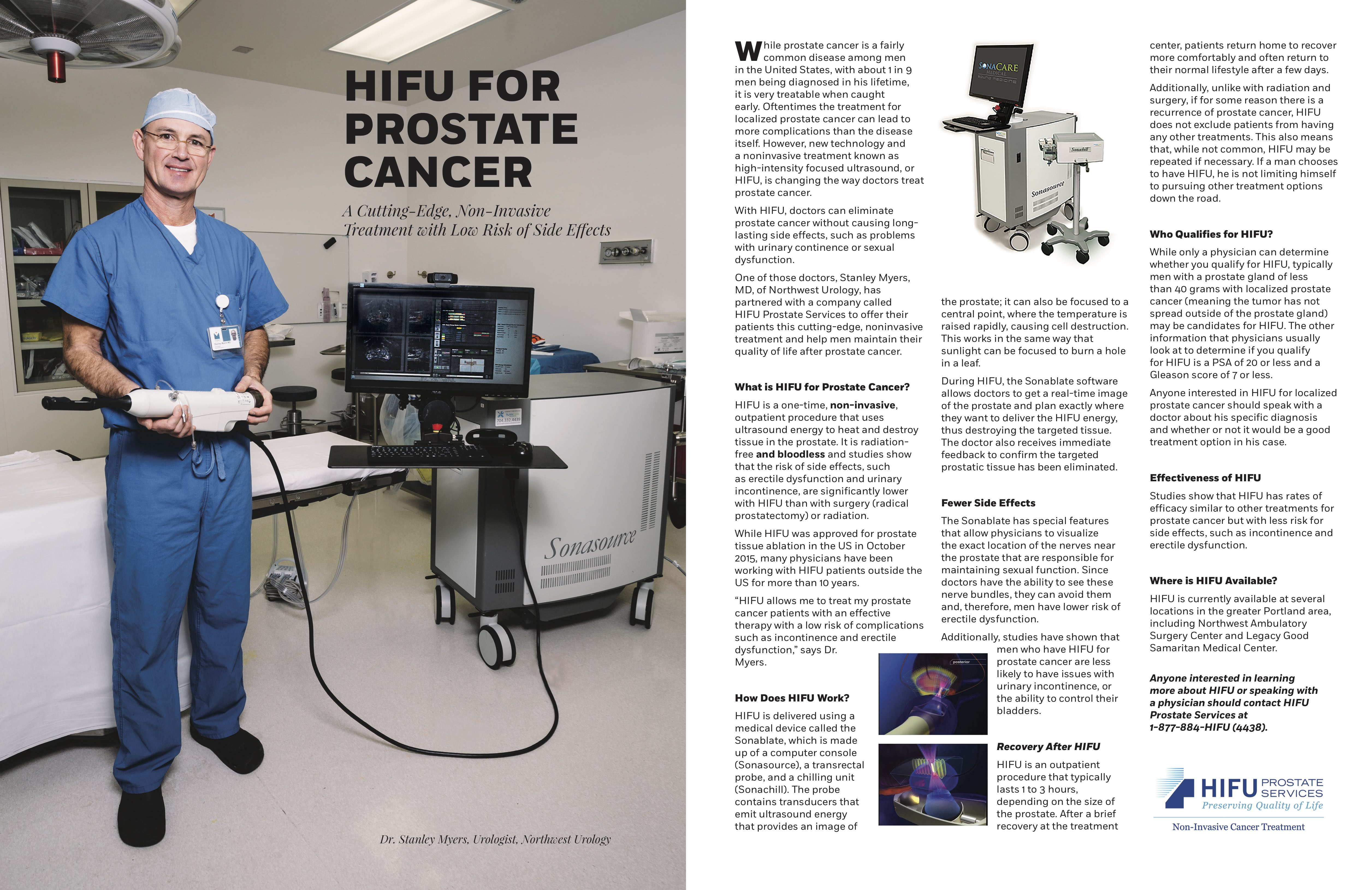 Dr  Stanley Myers Featured in Portland Magazine | HIFU